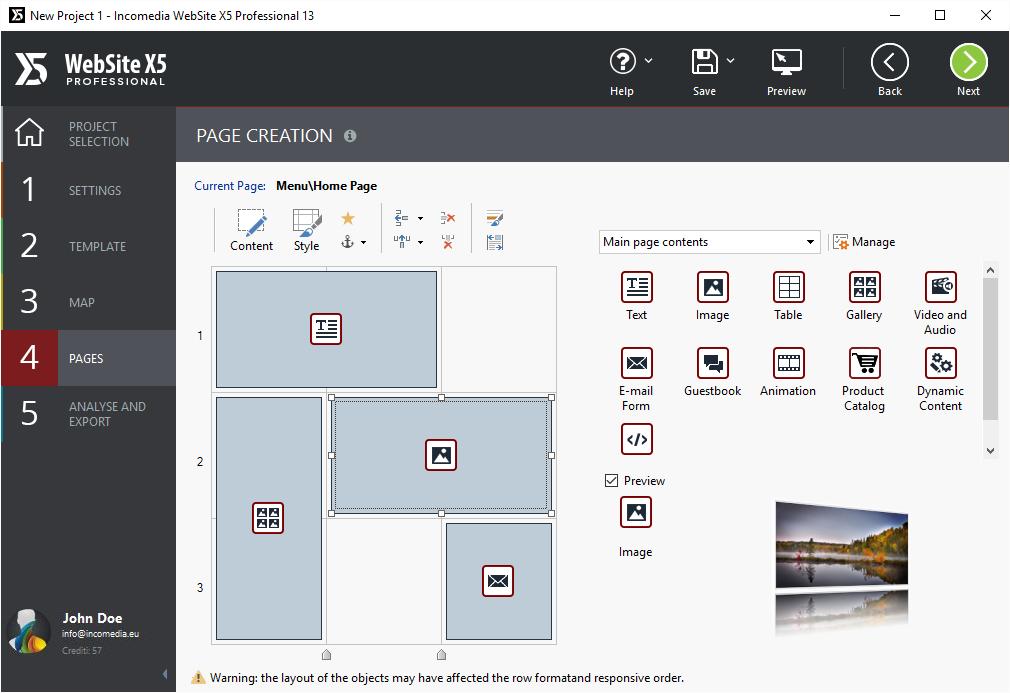 Windows 7 WebSite X5 Professional 13 13.0 full